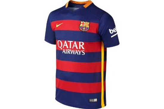 ¡Chollo! Camiseta Barcelona FC 2015/16 barata